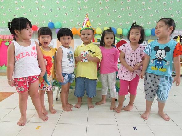 Sinh nhật bé Hoàng Lộc